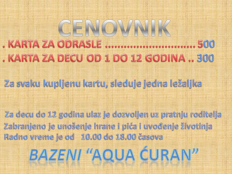 KARTE ZA BAZEN-14