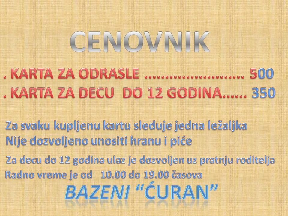 KARTE ZA BAZEN-13